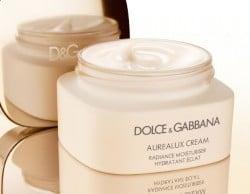 Dolce & Gabbana's Debüt mit der Hautpflegeserie Aurealux