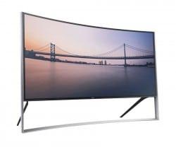 Samsungs 105 Zoll gekrümmter Fernseher startet mit Verkauf