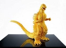 Ein Godzilla ganz aus Gold