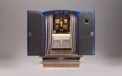 Die intimste und kleinste mobile Martinibar der Welt von Grey Goose