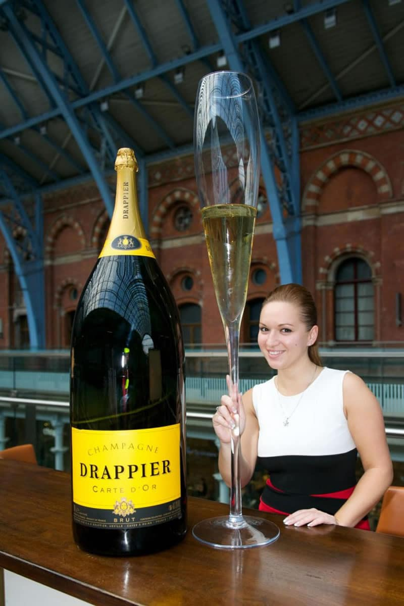 Melchisedek - Größte Champagner Flasche