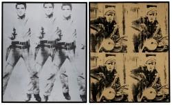 Teuerste Auktionen der Welt in 2014 - Triple Elvis und Four Marlons
