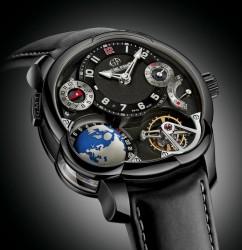 Greubel Forsey GMT exklusiv in Schwarz in limitierter Auflage