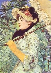 Teuerste Auktionen der Welt in 2014 - Le Printemps Edouard Manet - 1881
