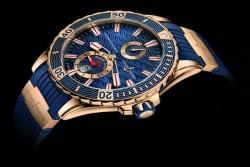 Ulysse Nardin Gold Marine Diver - eine elegante Taucheruhr