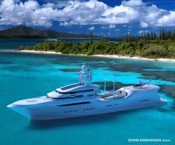Arctic Sun - Mega Yacht mit 90 Metern