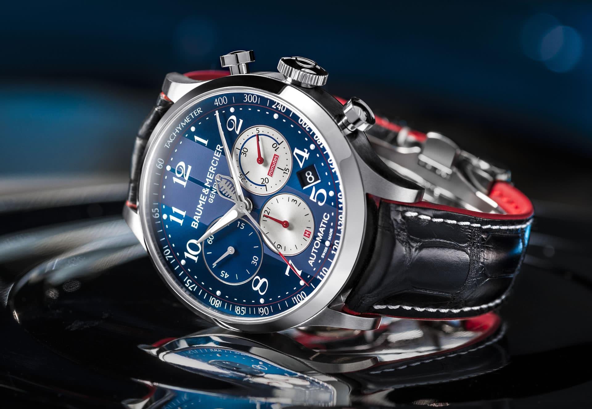 Baume & Mercier präsentiert Capeland Shelby Cobra Uhren