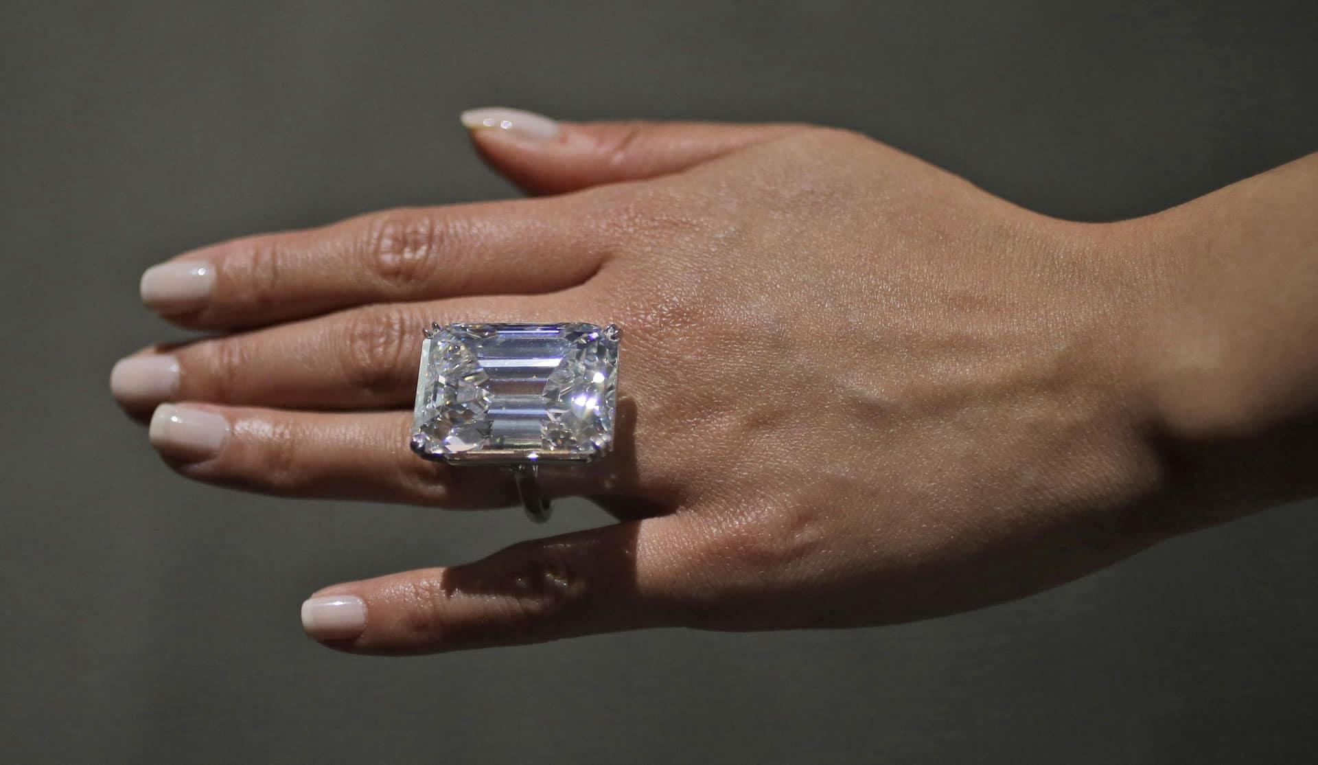 Diamant für $22 Millionen bei Sotheby's New York versteigert