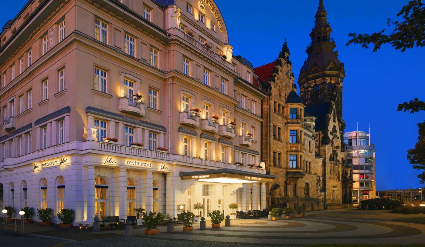Hotel Fürstenhof in Leipzig - wohnen wie die Fürsten