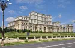 Parlamentspalast, Bukarest, Rumänien