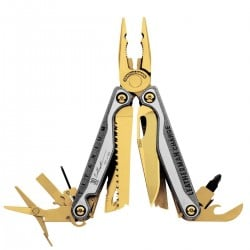 Leatherman CHARGE TTi GOLD Absolut Limited Edition Multitool Holzbox