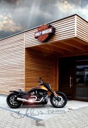 Special Edition der Harley Davidson V ROD von Bernhard Schwanitz aus Würzburg