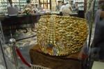 Der wohl schwerste Ring mit einem Gewicht von fast 64 kg