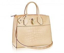 Louis Vuitton Alligator Skin City Steamer Bag