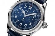 Montblanc 1858 Chronograph Tachymeter Blue LE