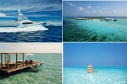 Mit der Luxusyacht durch die Gewässer der Malediven