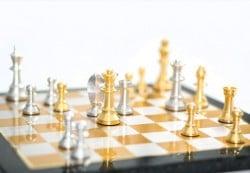 elegantes Schachspiel der Lieb-Manufaktur