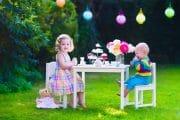 Kindergeburtstag im Garten