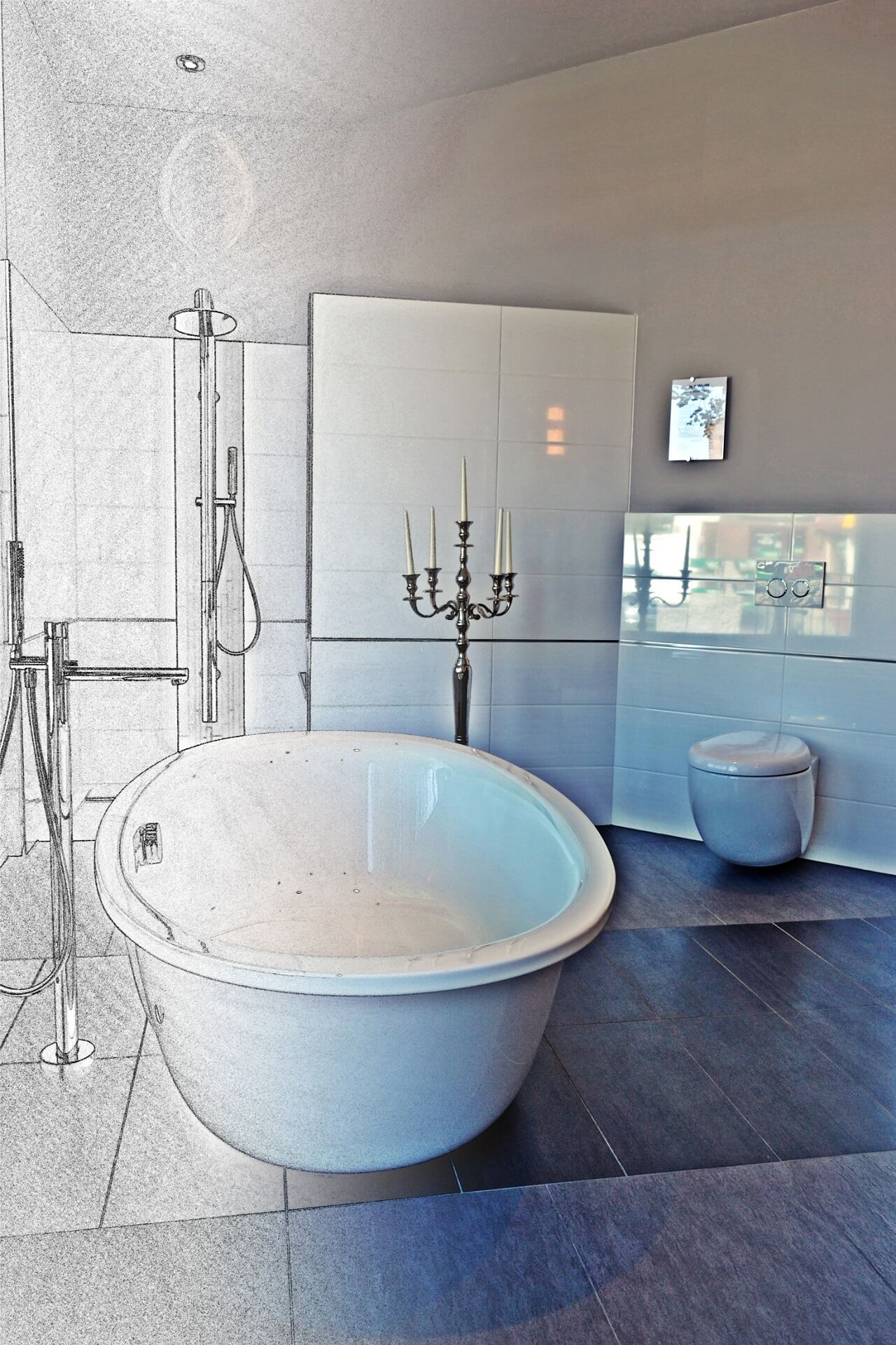 luxus pur die freistehende badewanne steht f r exklusivit t. Black Bedroom Furniture Sets. Home Design Ideas