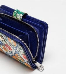 Detailansicht eines Portemonnaies