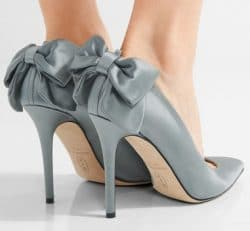 Start-Style von Sarah Jassica Parker: graue Pumps