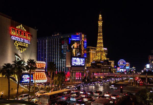 Las Vegas - Blick auf die Casinos