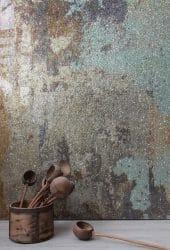 Wandgestaltung mit einer Tapete de luxe von Ulrich Welter