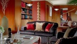 Ein Wohnraum de luxe im President Wilson