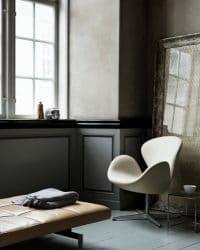 Der Swan - ein Stuhl von Arne Jacobsen