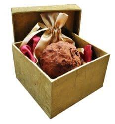 Der teuerste Schokoladen-Trüffel der Welt in einer Geschenkbx