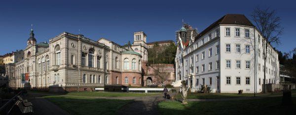 Baden-Baden - Friedrichsbad - Suedost-Kloster Hl. Grab