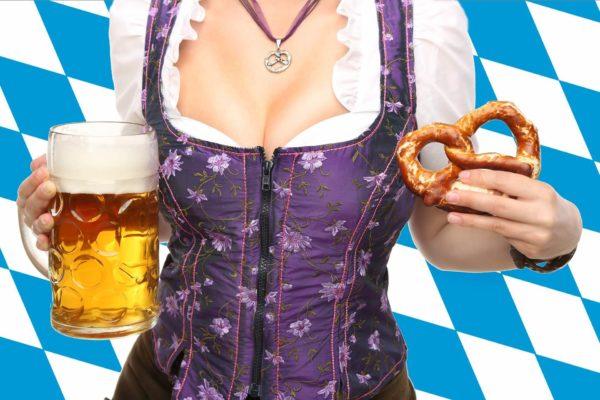 Bier und Bretzeln