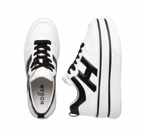 Plateau Sneaker von Hogan in trendigen Farbkombinationen