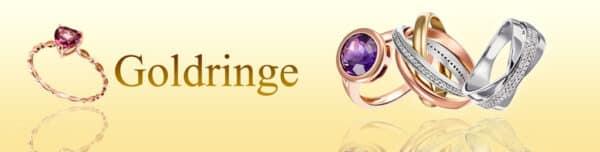 Schöne Goldringe runden jeden Anlass perfekt ab