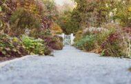 Kies und Splitt zur Verzierung des Gartens