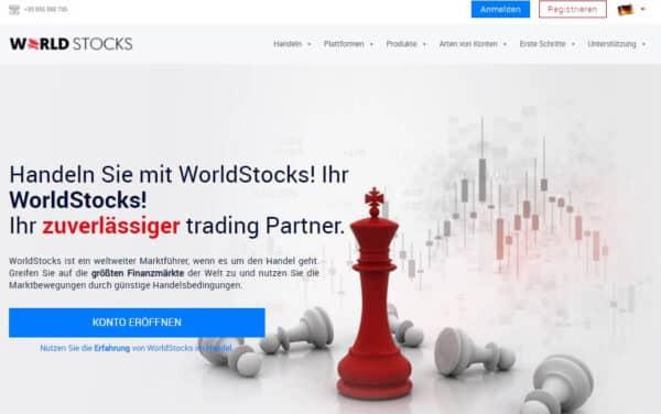 WorldStocks Review - Falls Ihnen Sicherheit und Regulierung wichtig sind
