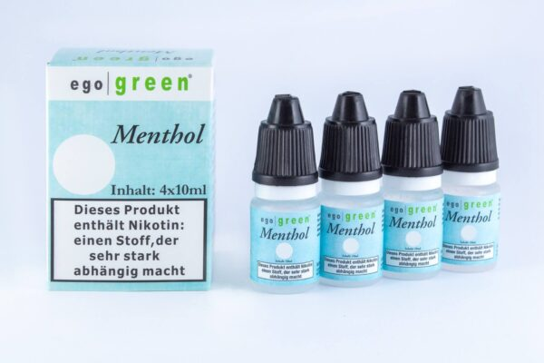 E-Liquids von Egogreen - mit und ohne Nikotin