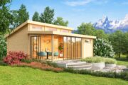 Klassische und exklusive Gartenhäuser
