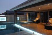 Poolbeleuchtung mit LED-Streifen