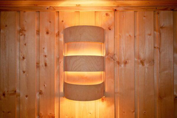 Saunabeleuchtung: stilvolle, sichere und effektive Lösungen